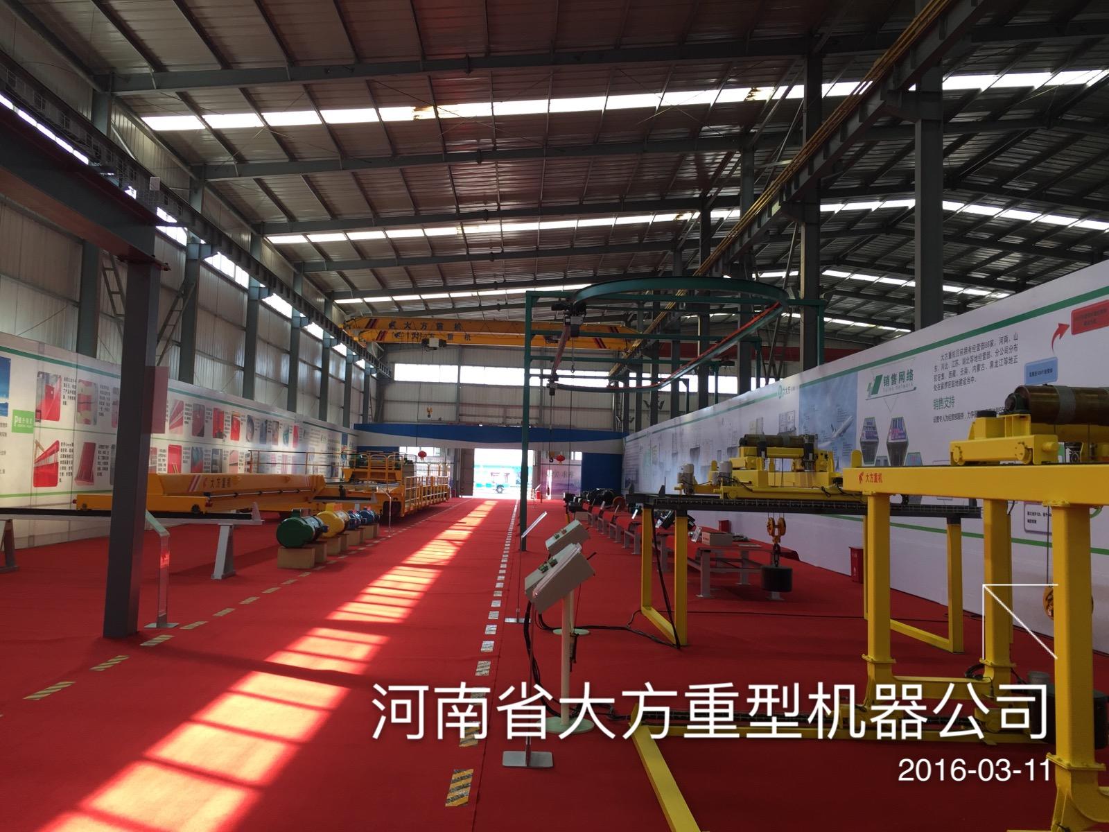 年产1000艘玻璃钢电动船钢结构厂房参观
